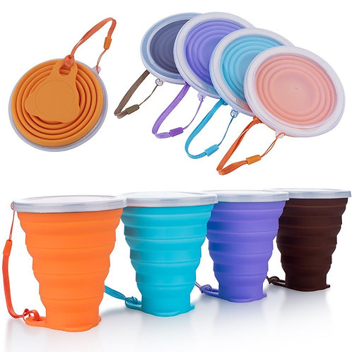 Silicone Collapsible Travel Cup 270ML
