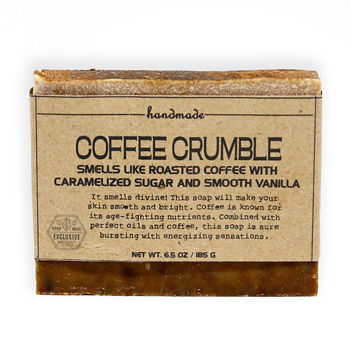 Coffee Crumble Hand-Crafted Soap 185G