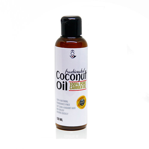 Fractionated Coconut Oil Cold-Pressed 100ml