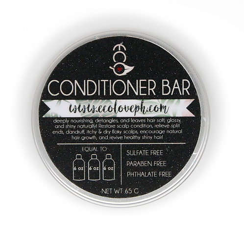 Conditioner Bar Tin Can 80g