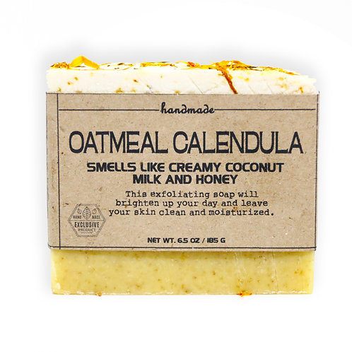 Oatmeal Calendula Hand-Crafted Soap 180G