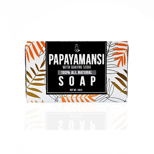 Papayamansi with Baking Soda Soap 110g