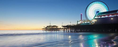 Picture of Santa Monica Pier and ferris wheel