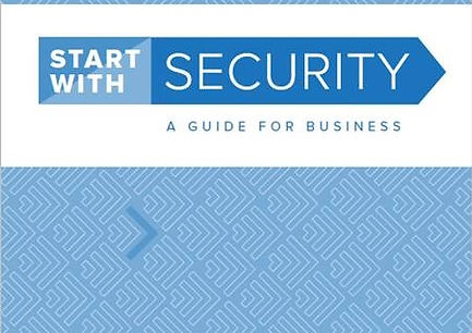 "Title ""Start with SECURITY A Guide For Business"""