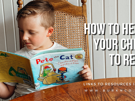 How to Help your Child to Read – 5 Links for Early Reading