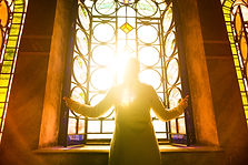 bigstock-Religious-christian-woman-look-