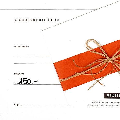 Gutschein - VESTITA