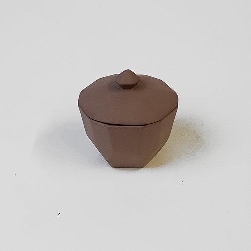 Dose aus Steinzeug - HÜBSCH DESIGN