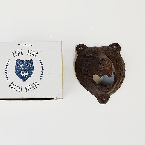 Flaschenöffner BEAR HEAD - Men's Society