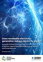 Renewable Electricity Generation Report