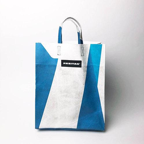 Freitag Shopper MIAMI VICE - blau/weiss