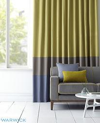 BQ Design_Warwick fabrics_eyelet curtain