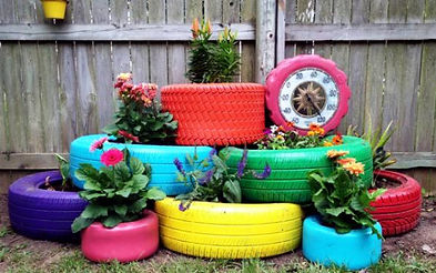 make-gardening-ideas-with-old-car-tire-f