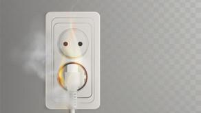 Manten los cables eléctricos en buen estado