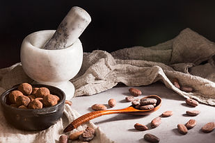 chocolate-truffles-in-bowl-and-spoon-wit