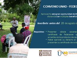 La alianza permitirá que los cacaocultores y sus familiares puedan acceder a los programas educativo
