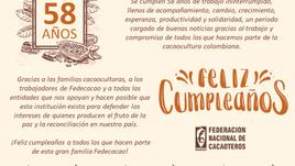 58 años al servicio de la cacaocultura colombiana