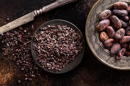 top-view-of-grounded-cocoa-beans-on-plat