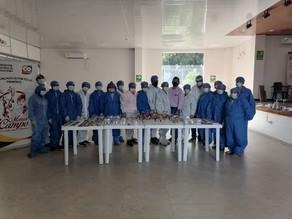 Las mujeres arauquiteñas se capacitan en transformación primaria de cacao con Fedecacao