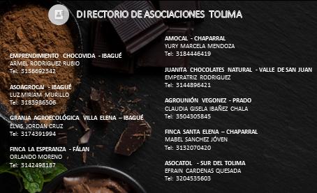 #ElChocolateNosUne – Tolima es cultura, tradición y producción