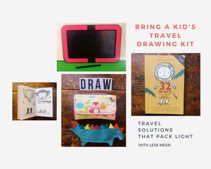 drawing travel kit