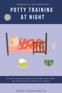 Potty training essentials you need to night train your toddler
