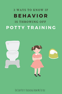 Ways to know if accidents are a matter of toddler behavior