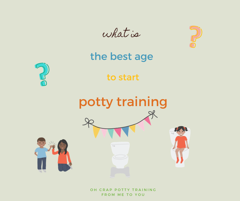 potty training age