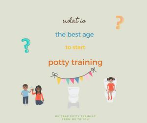 potty training age