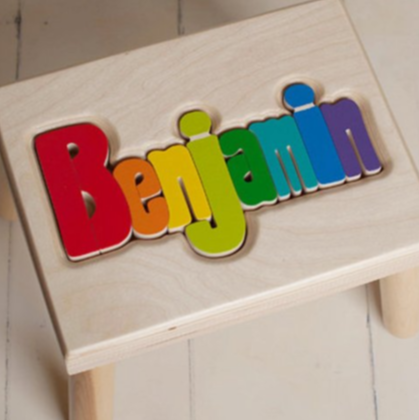 personalized name stepstool for toddlers