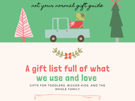 A Gift List Full of What We Use and Love