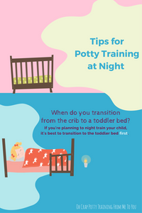 When to move toddler from crib to toddler bed