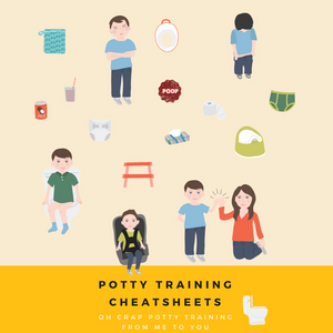 potty training cheatsheets