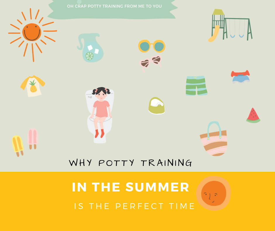 Why potty training in the summer is the perfect time