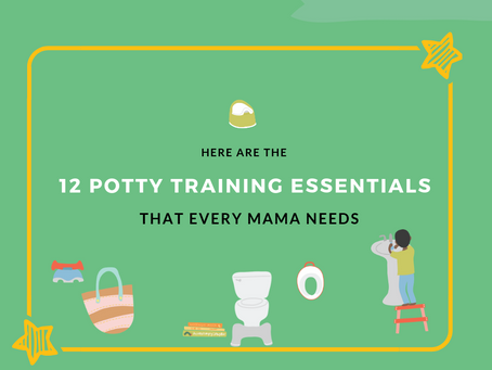 Here are the 12 Potty Training Essentials that Every Mama Needs