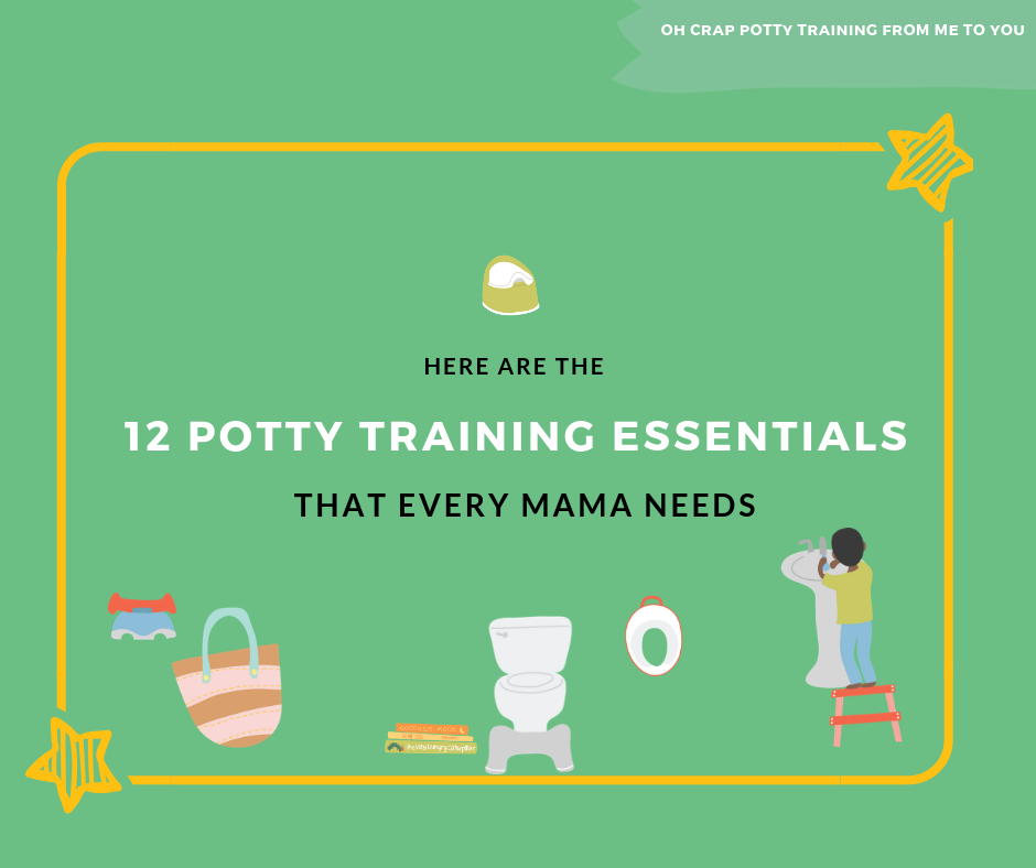 12 potty training essentials that every mama needs