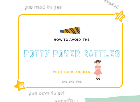 How to Avoid the Potty Power Battles With Your Toddler