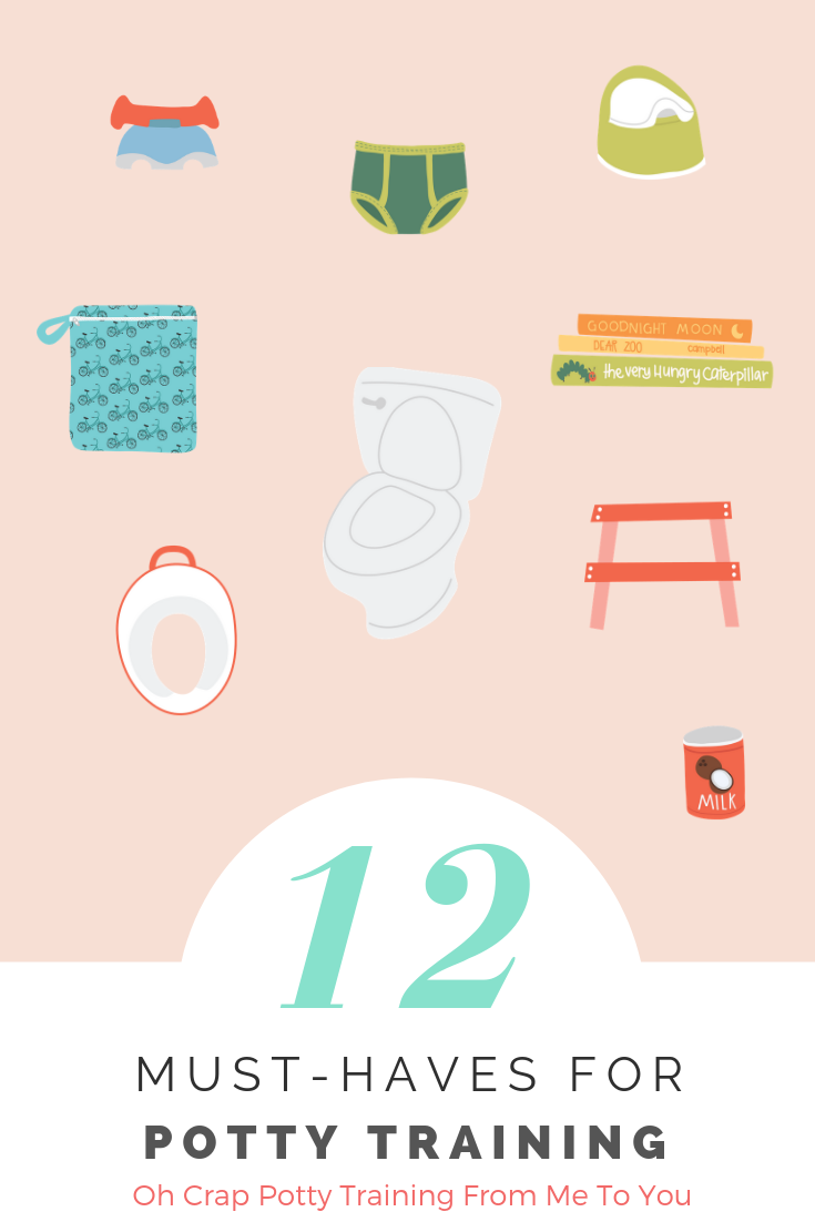 12 potty training must-haves that every mom needs