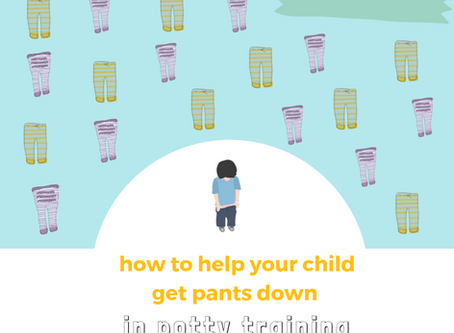 How to Help Your Child Get Pants Down in Potty Training