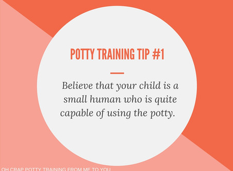 One Simple Thing to Remember in Potty Training