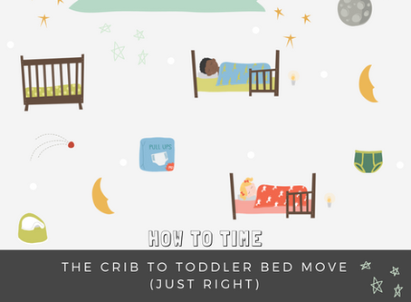 How to Time the Crib to Toddler Bed Move (Just Right)