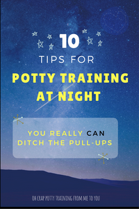 10 tips for setting up your child to be diaper-free at night
