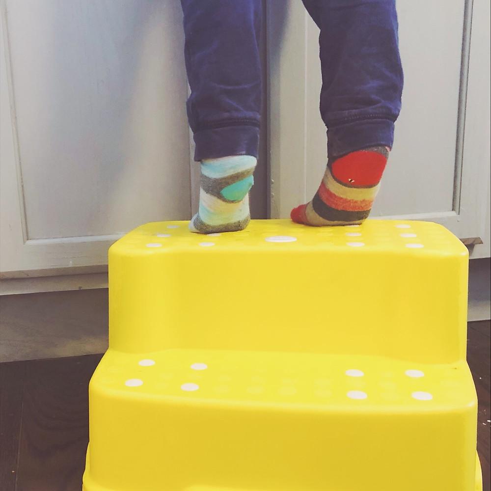 stepstool toddler
