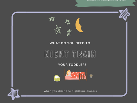 What Do You Need to Night Train Your Toddler?