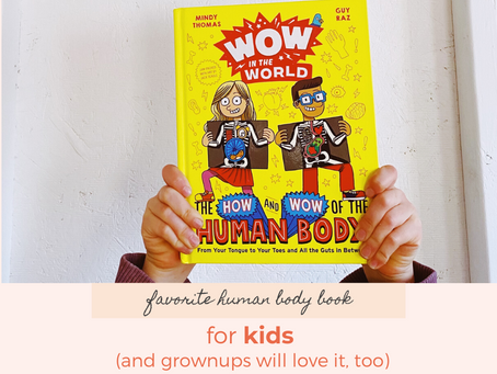 The Best Human Body Book for Elementary-Age Kids