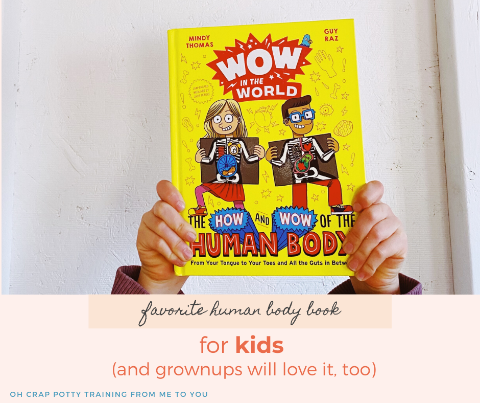 human body book for kids