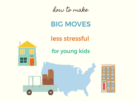 How to Make Big Moves and Goodbyes Easier For Kids