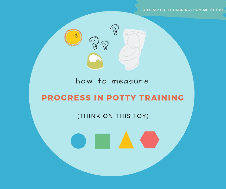 How to measure progress in potty training (think on this toy)