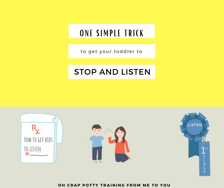 trick get kids listen