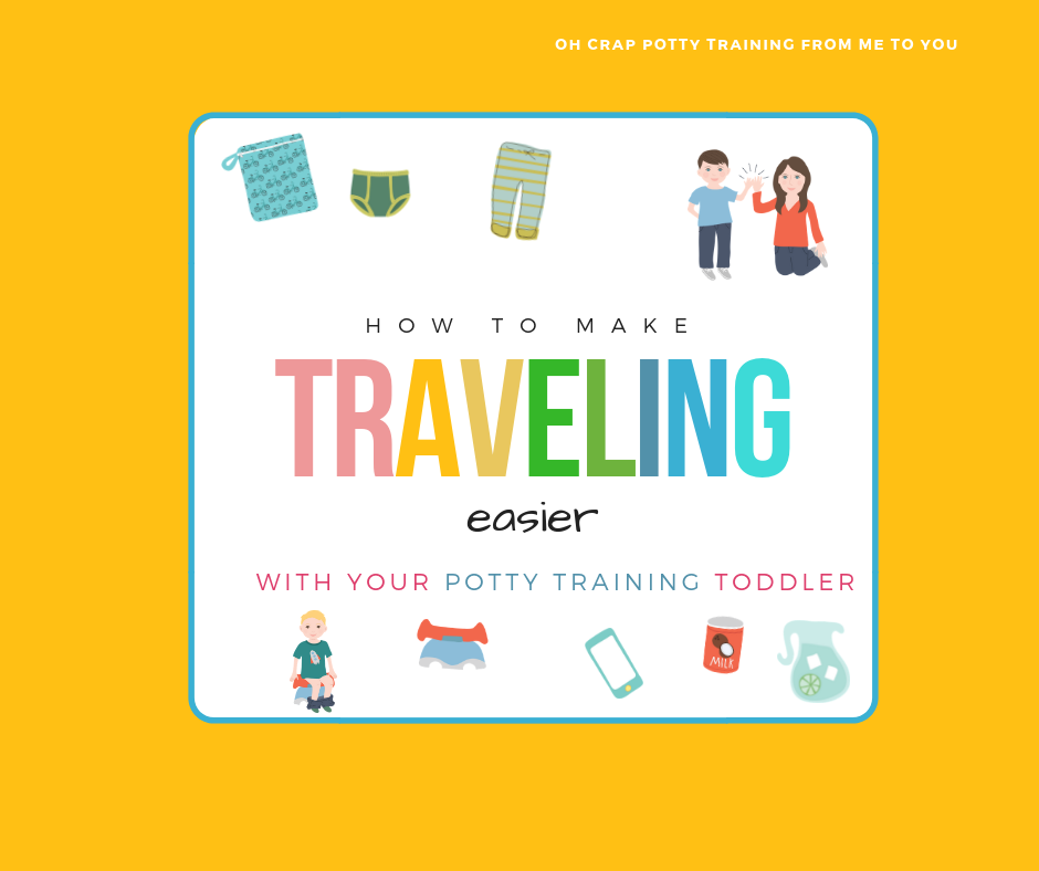 How to make traveling easier with your potty training toddler